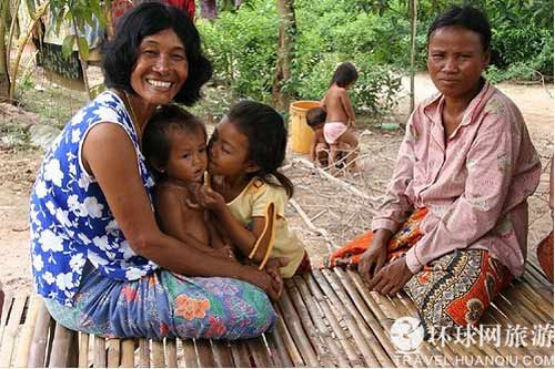 """""""Thiên đường nữ quốc"""" tại Campuchia - 9"""