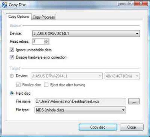 Mẹo độc tạo ổ CD/DVD ảo để sao chép đĩa - 2