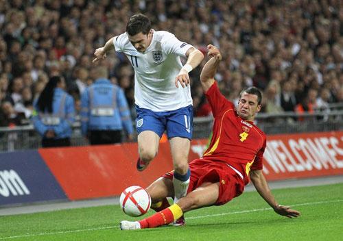 Video trận Anh - Montenegro: Bất lực - 1