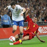 Video trận Anh - Montenegro: Bất lực
