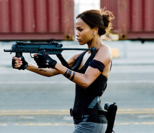 "Sao nữ đua nhau ""sắm"" vũ khí - 18"