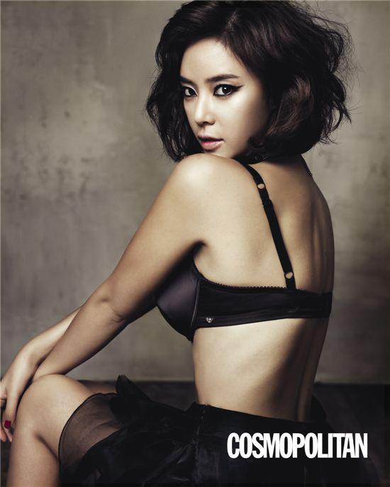 Kiều nữ Hàn 'cởi đồ' cho Emporio Armani - 13