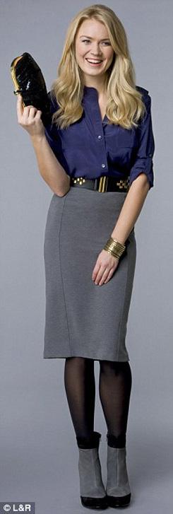 8 kết hợp chân váy và áo cho phụ nữ tuổi băm - 2