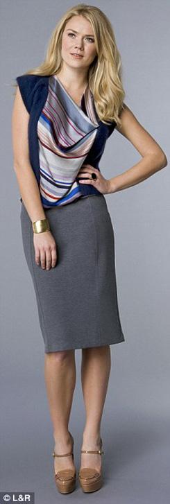 8 kết hợp chân váy và áo cho phụ nữ tuổi băm - 3