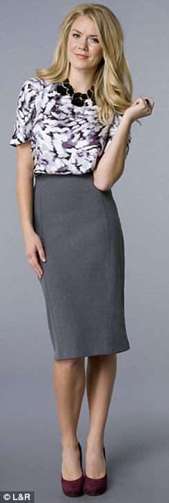 8 kết hợp chân váy và áo cho phụ nữ tuổi băm - 4