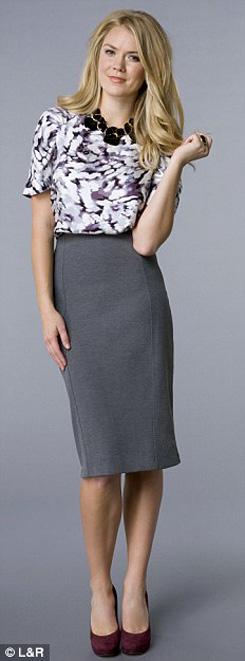 8 kết hợp chân váy và áo cho phụ nữ tuổi băm - 7