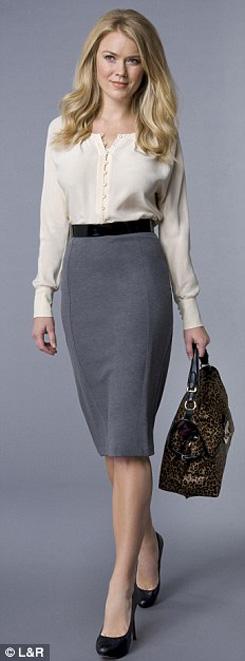 8 kết hợp chân váy và áo cho phụ nữ tuổi băm - 8
