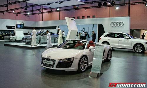 Bộ sưu tập xe sang tại Sharjah Motor Show - 3