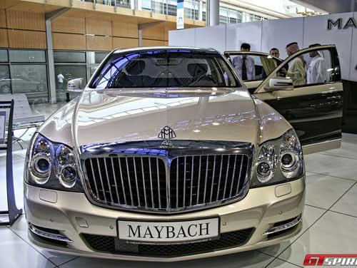 Bộ sưu tập xe sang tại Sharjah Motor Show - 7