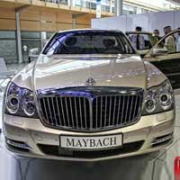 Bộ sưu tập xe sang tại Sharjah Motor Show