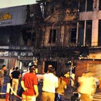 Cháy lớn tại ngân hàng Phương Nam