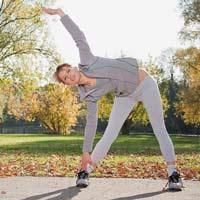 Video làm đẹp: Tập thể dục giảm cân ngoài trời