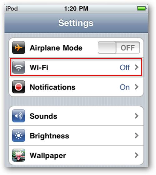 Cách kết nối iPhone, iPod Touch, hoặc điện thoại Android vào mạng Wi-Fi - 2