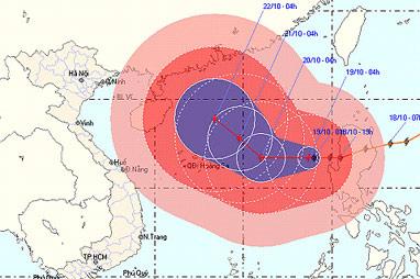 Bão Megi: Đại họa nếu vào Việt Nam - 1