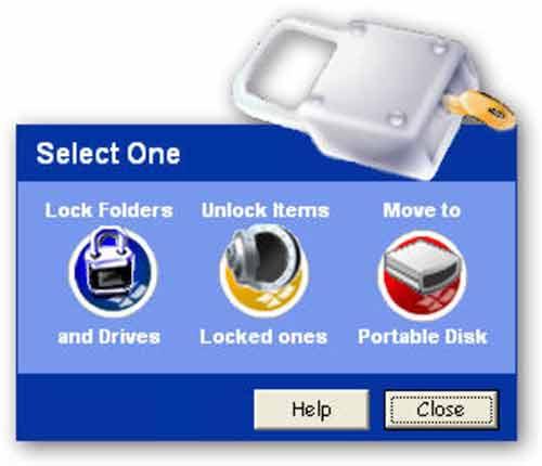 Phần mềm khóa thư mục an toàn - 1