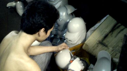 Công nghệ sản xuất mũ bảo hiểm dỏm - 1