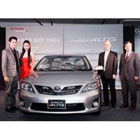 Toyota Việt Nam giới thiệu Corolla Altis mới 2010