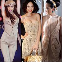 Mỹ nhân Việt sexy với màu Nude