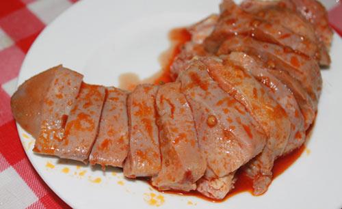 Lưỡi heo nướng sa-tế: Món nhậu cuối tuần - 1