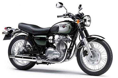 "Chiến binh Kawasaki W800 ""tái xuất"" - 1"