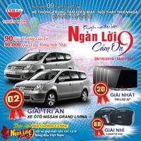 Mua sắm tại Thiên Hòa Trúng  02 ôtô  Nissan Gland Livina