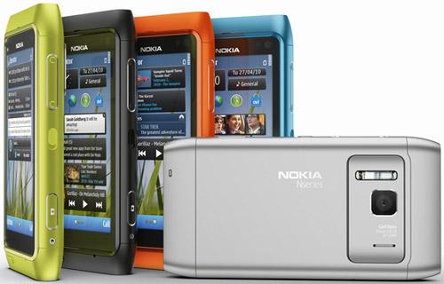 """Nokia khoe """"màu sắc rực rỡ"""" của N8 chế nhạo iPhone 4 màu trắng - 2"""