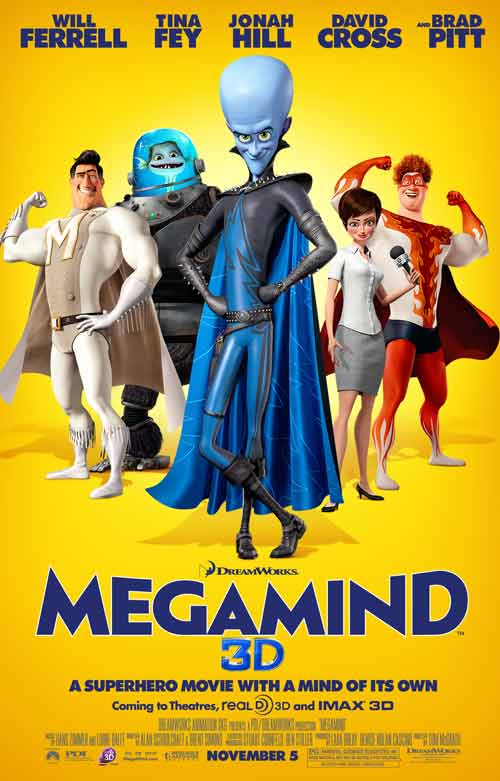 Megamind: Phim bom tấn 3D ly kỳ - 1