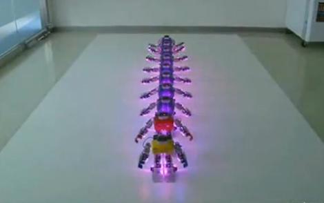 Video: Robot múa Phật nghìn mắt nghìn tay - 1