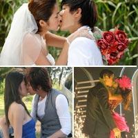 Sao Việt và những nụ hôn nóng bỏng