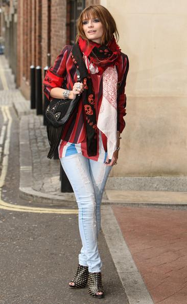 10 cách thắt khăn thời trang mùa đông - 23