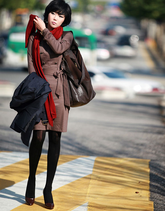 10 cách thắt khăn thời trang mùa đông - 21