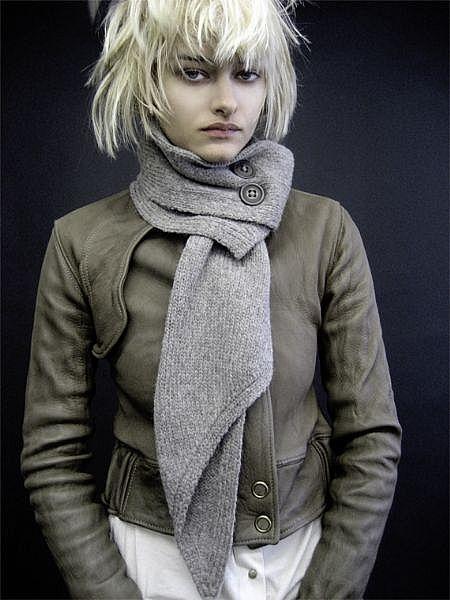 10 cách thắt khăn thời trang mùa đông - 15