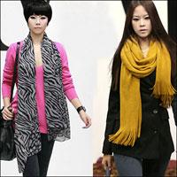 10 cách thắt khăn thời trang mùa đông