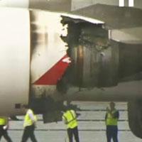 Video: Động cơ máy bay A380 vỡ vụn giữa trời