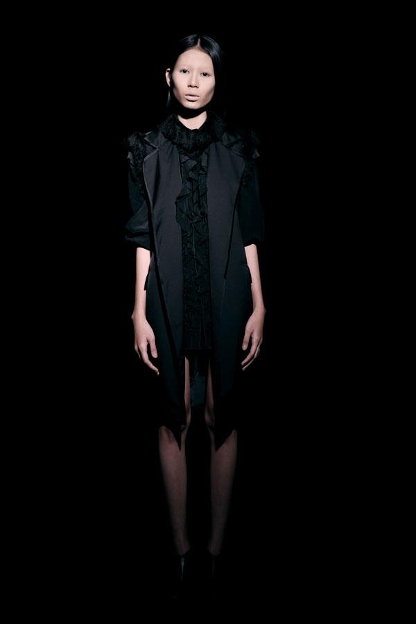 Váy ren đen gợi cảm cho phụ nữ châu Á - 13