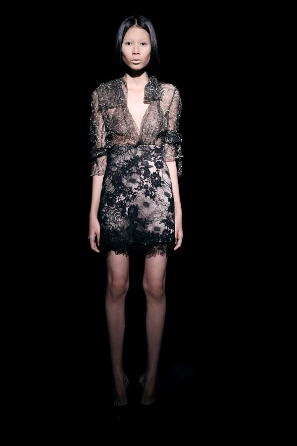 Váy ren đen gợi cảm cho phụ nữ châu Á - 10