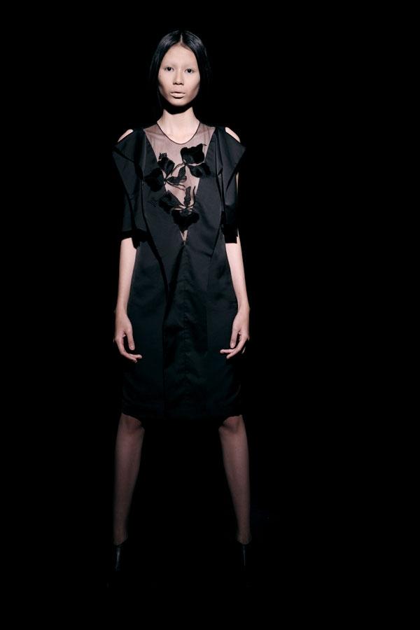 Váy ren đen gợi cảm cho phụ nữ châu Á - 8