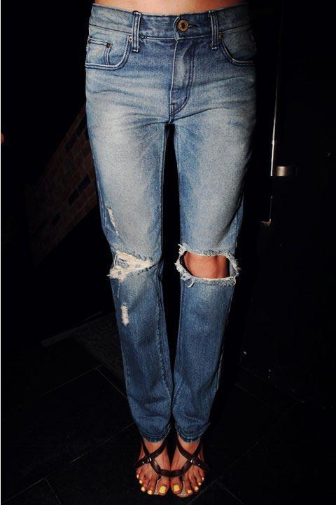 Cách giữ màu jean lâu bạc - 2