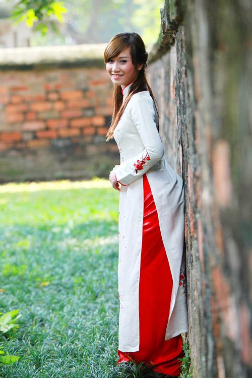 Top 20 Miss Teen tinh khôi với Áo dài trắng - 13