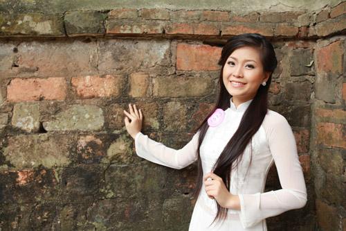 Top 20 Miss Teen tinh khôi với Áo dài trắng - 9