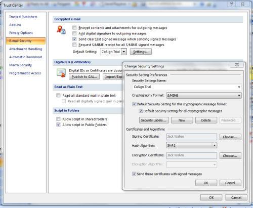 Mã hóa email trong Outlook 2007, Tin học văn phòng, Công nghệ thông tin, Ma hoa email trong Outlook 2007, ma hoa email, Outlook 2007, mail, Digital ID, vi tinh, internet, thu dien tu