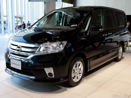 Nissan Serena mới sẽ được bán ngày 29 tháng 11 - 1