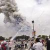 Tin thêm về vụ nổ pháo hoa ở Mỹ Đình