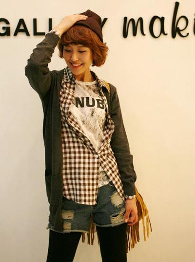 Hô biến với 5 kiểu áo khoác hot nhất Thu Đông 2010 - 5