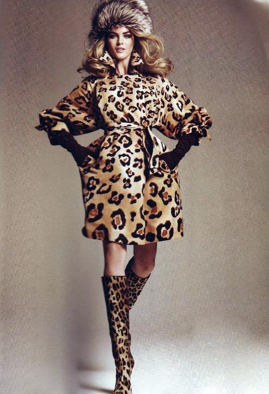 Mặc đẹp với áo lông thú - 5