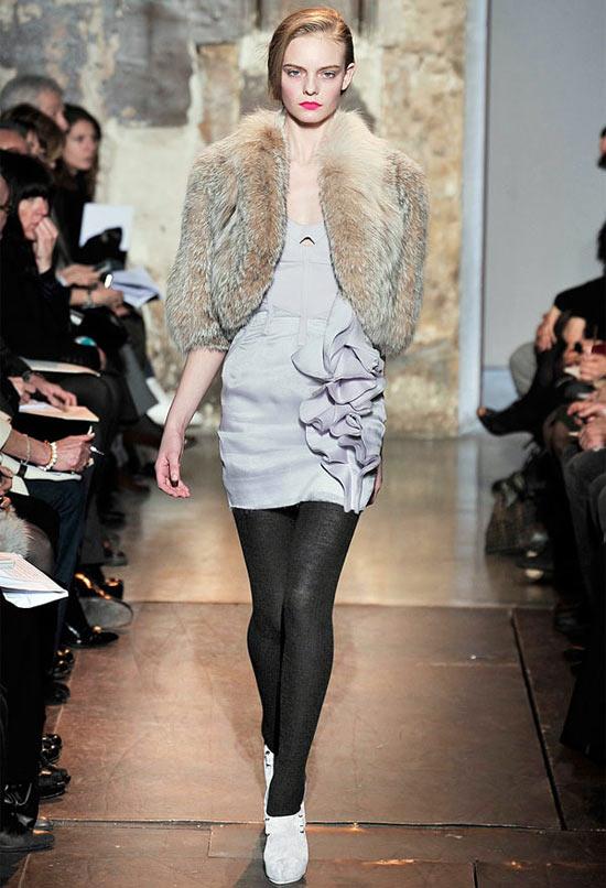 Mặc đẹp với áo lông thú - 2