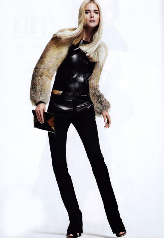 Mặc đẹp với áo lông thú - 6