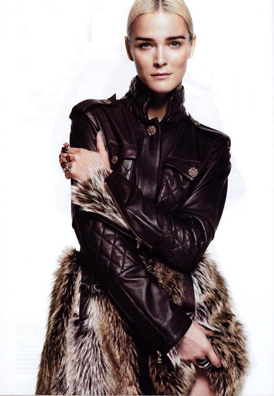 Mặc đẹp với áo lông thú - 7