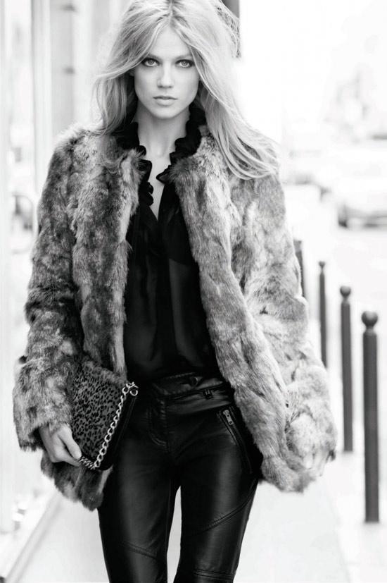Mặc đẹp với áo lông thú - 9
