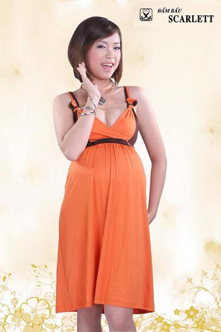 Đầm bầu Scarlett: Đầm bầu thời trang đậm chất cá tính - 4